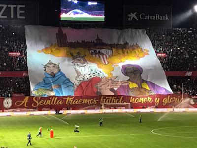 A Sevilla traemos fútbol, honor y gloria