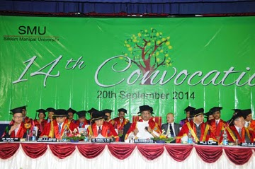 Sikkim Manipal University 14th Convocation Ceremony