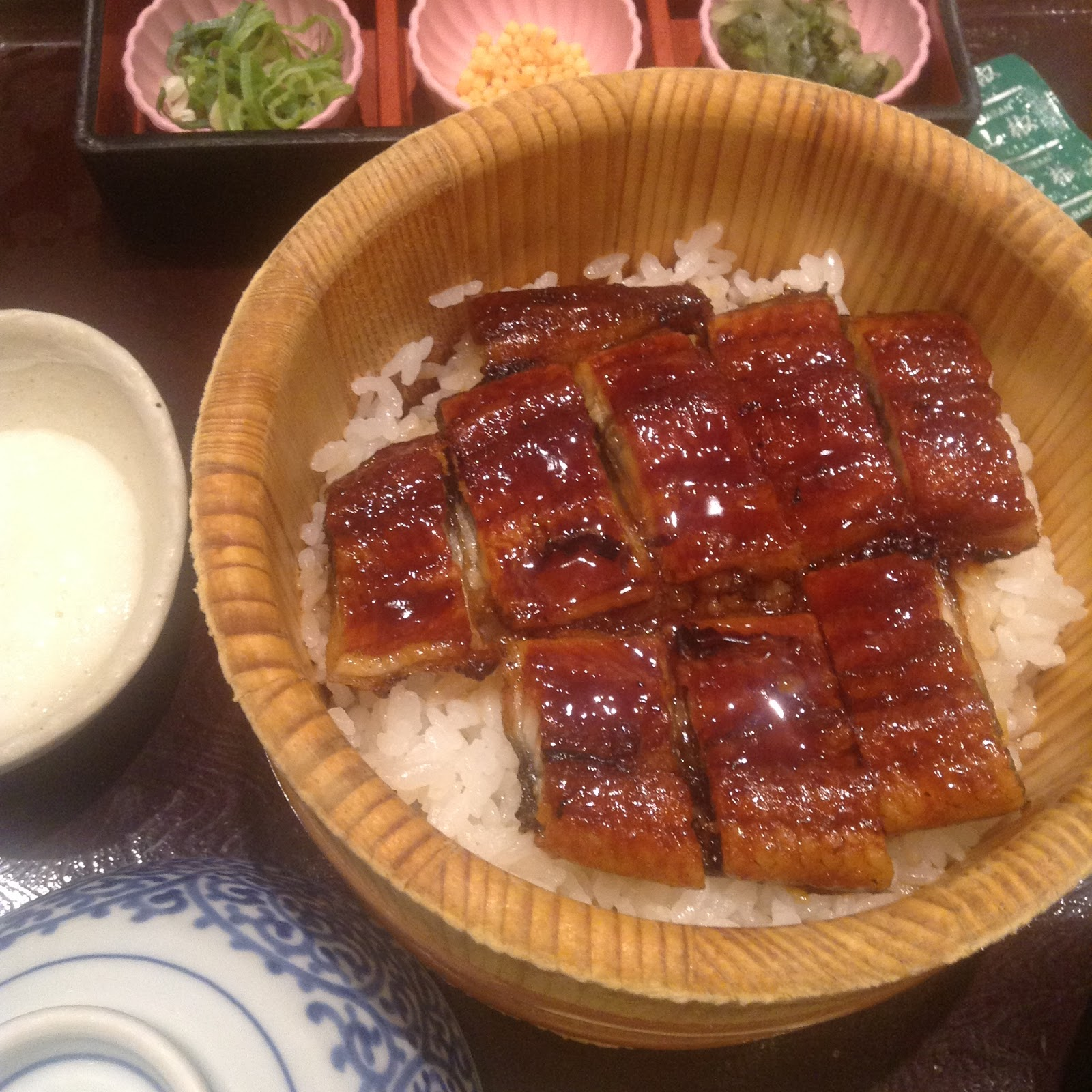 Unagi don Japanese food