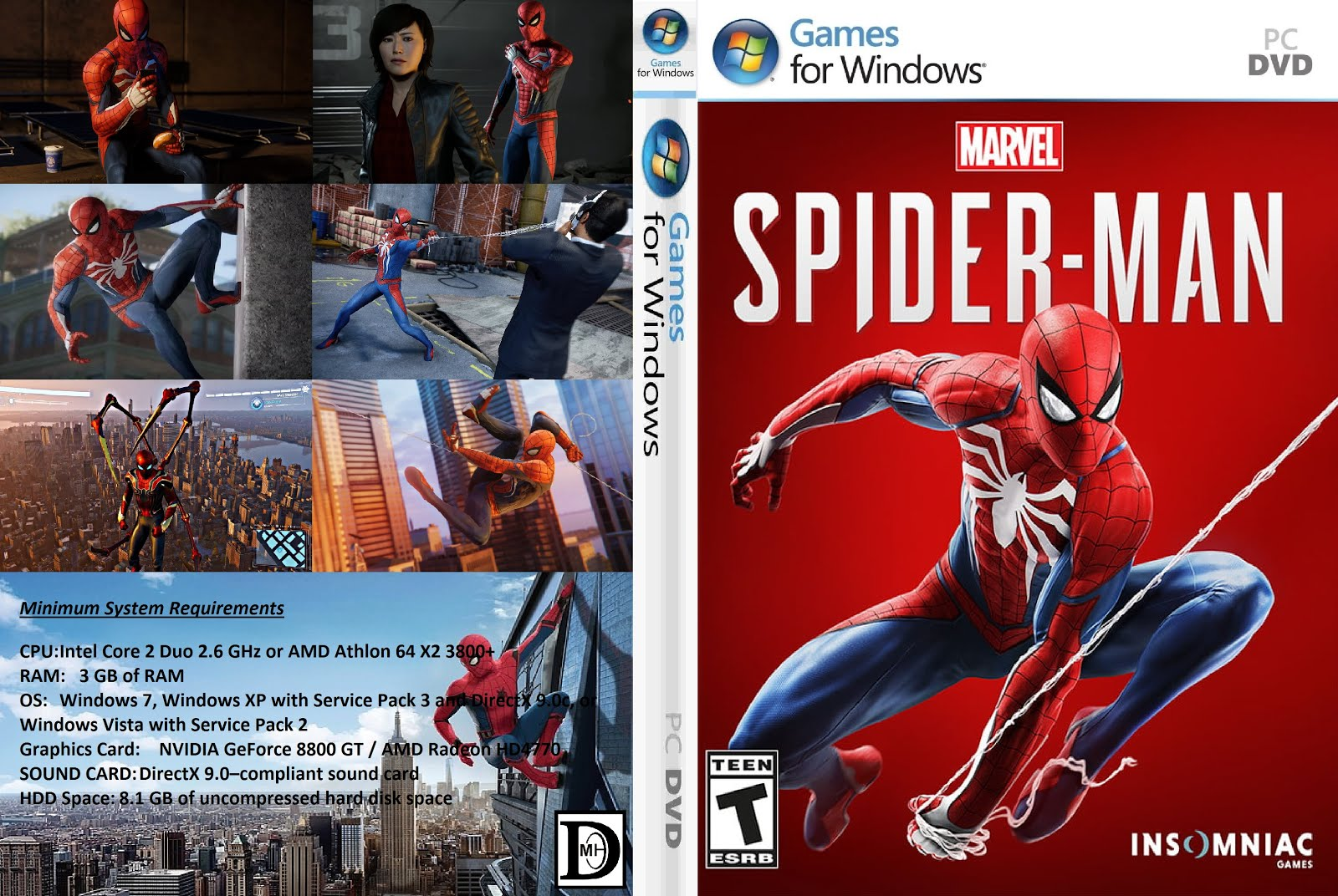 download spider man 2018 game for pc