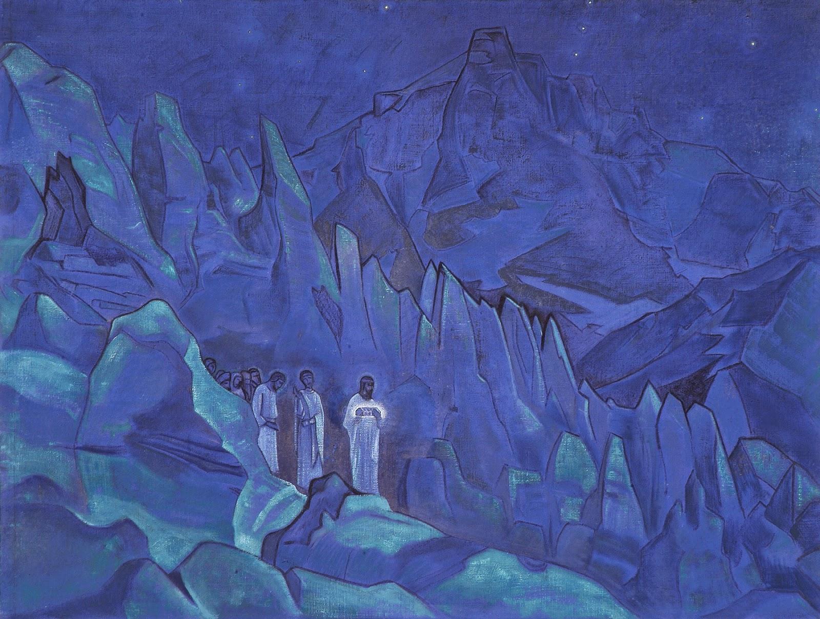 Resultado de imagen para nicholas roerich pinturas