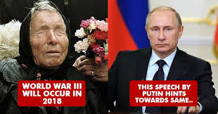 Ramalan Baba Vanga: Putin akan Kuasai Dunia, Tak Bisa Dicegah