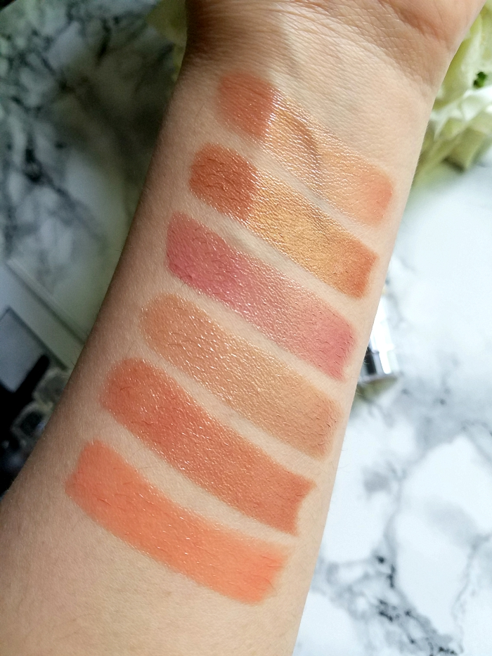 "L´Oréal Paris Color Riche Shine Addiction Lipsticks ""The Naked Tans"" 247 Shot of Sun - 656 Beige in the City - 657 Steal the Shine - 658 Topless - 659 Blow your Glow - 660 Get Nude 4"