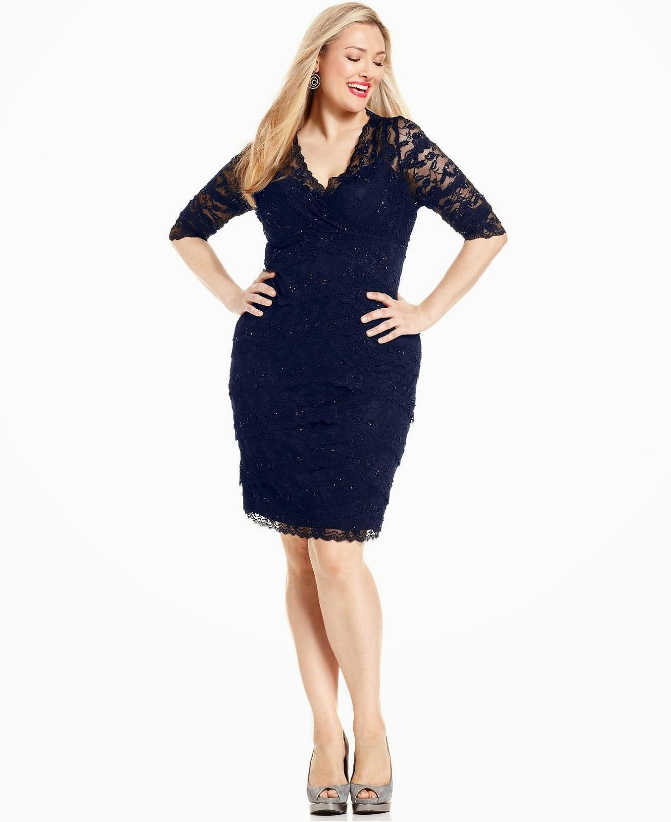 8c20a2548 Vestidos Para Señoras Gorditas Y Bajitas | Wig Elegance