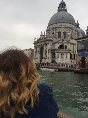 Grand canal cruise Venice Italy