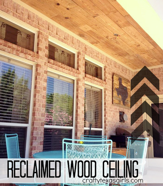 Reclaimed Wood Ceiling