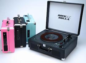 Rock 'N' Rolla turntables