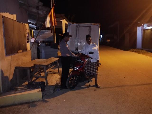 Polsek Pamarayan, Polres Serang Laksanakan Giat Operasi Cipta Kondusif.