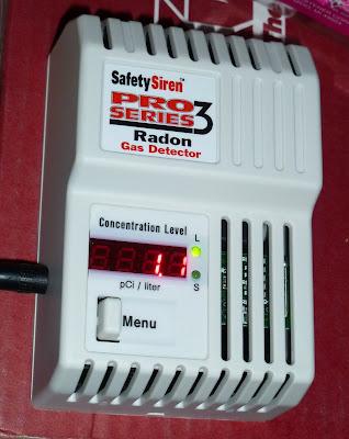 Radon gas detector gas leak in kitchen pop safety for Cheap radon mitigation