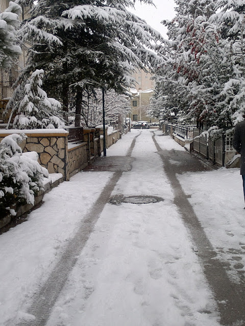 kar manzarası-Ankara