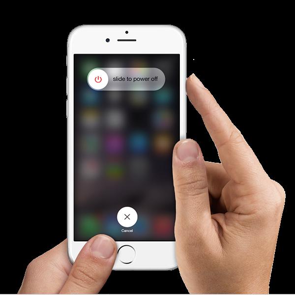 Cara restart iPhone atau cara mematikan iPhone