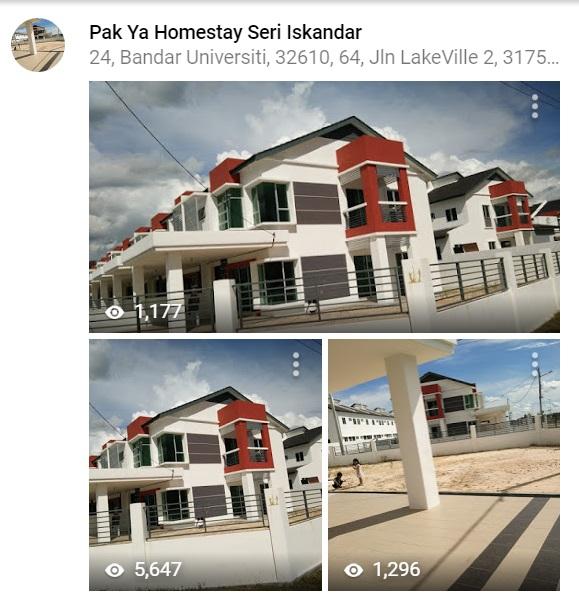 Gambar-gambar Pak Ya Homestay Seri Iskandar Perak di google Map