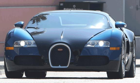 Photo: You have got to check out Jamie Foxx's N900million Bugatti super car