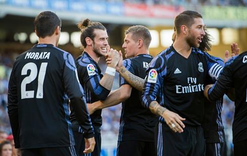 Real giành chiến thắng thuyết phục trước Sociedad