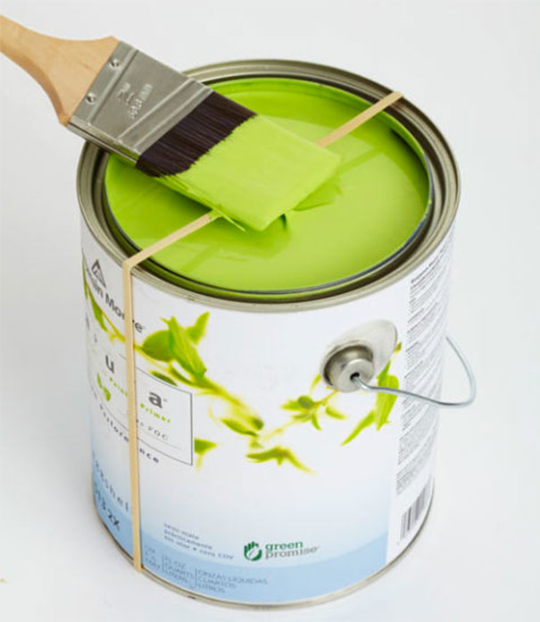 Creative wall painting ideas - Brush painting tips hack