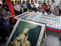 Setelah Cabai Berbakteri, Lukisan Ibu Yesus Dari China Ternyata Berisi Sabu 26 Kg!!