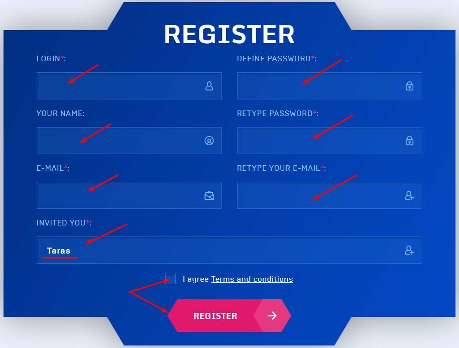 Регистрация в I-Forex Group Limited 2