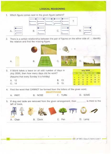 maths olympiad for class 2 sample papers pdf