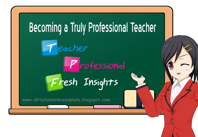 being a professional teacher