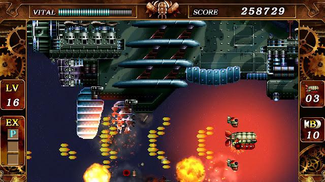 Steel Empire - PC Steam version - Huge boss