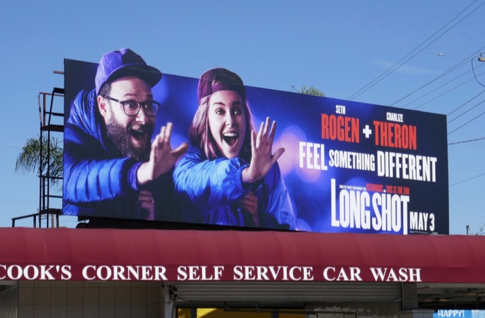 Long Shot movie extension billboard