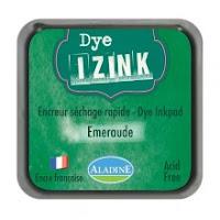 Izink dye ink pad - Vert Emeraude