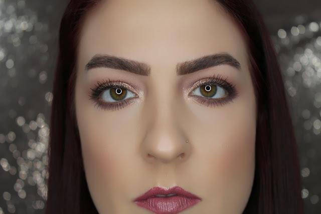 PUR Cosmetics: Smokey Rose Gold Tutorial