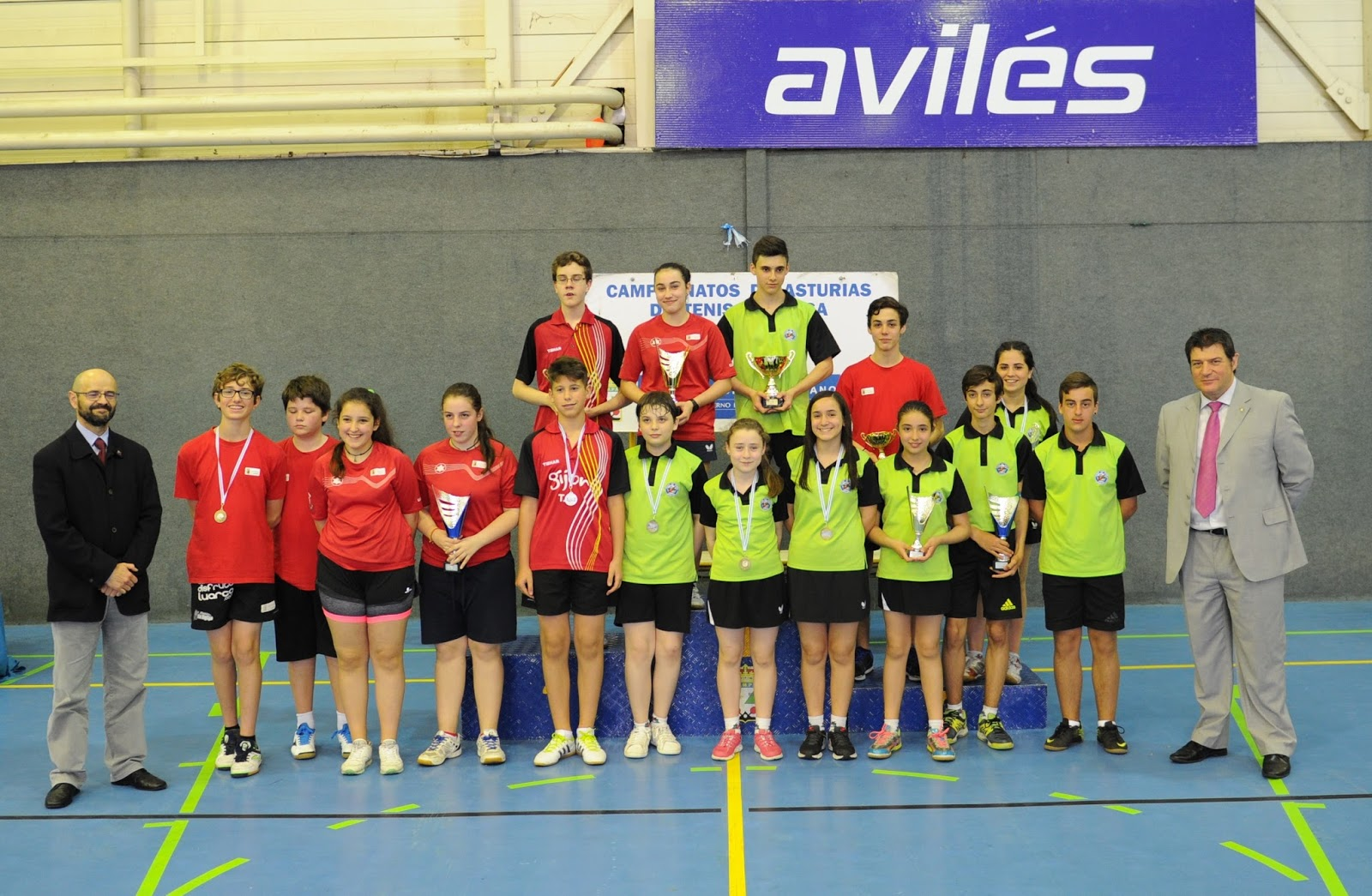 Avil s tenis de mesa resultados de las competiciones del - Aviles tenis de mesa ...