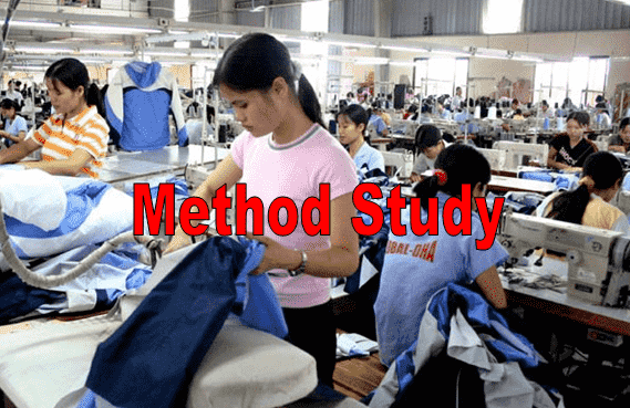 Method study in garment industry