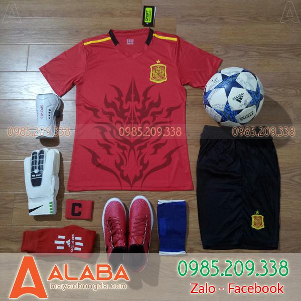 Áo Đội Tuyển Tây Ban Nha 2018 Màu Đỏ