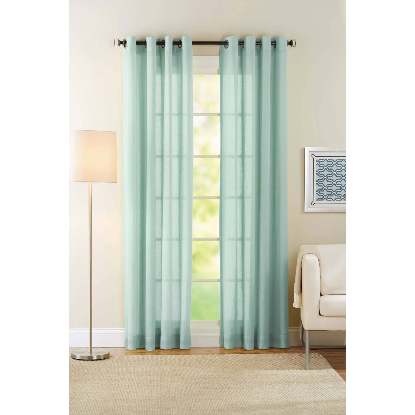 Changing Room Curtains Charcoal And White Eyelet Velvet