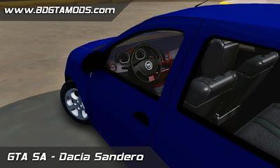 Dacia Sandero para GTA San Andreas , GTA SA