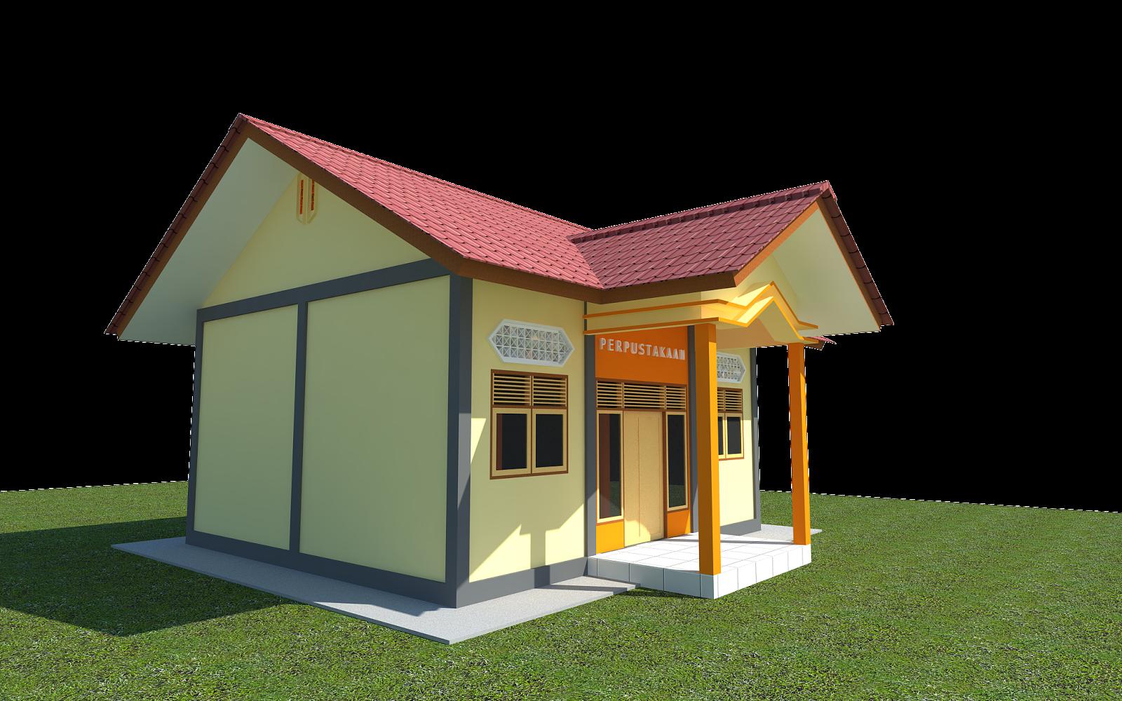 Silas Desain Desain Perpustakaan Sekolah Dasar Karya Silas