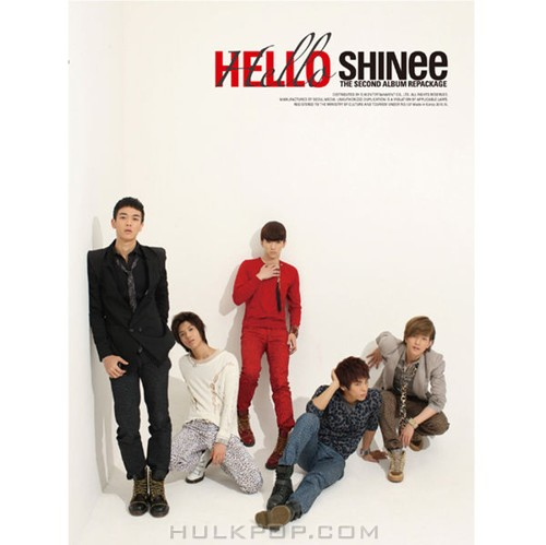 SHINee – Hello (Repackage) (FLAC + ITUNES PLUS AAC M4A)