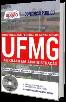 Apostila Concurso UFMG 2018 Auxiliar em Administração