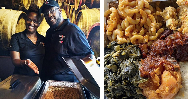 Kurtis Williams and Candace Maiden, owners of Squash the Beef Catering