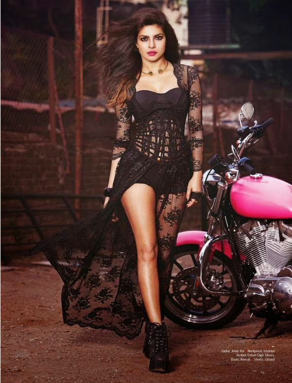 PRIYANKA CHOPRA FOR FILMFARE MAGAZINE