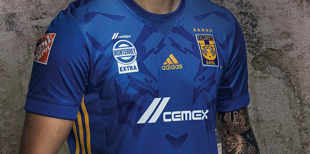 c591b81cf The Tigres 2017-2018 shirts introduce bespoke designs, made by Adidas. The home  kit is inspired by the shirt Tigres wore when they won their first league  ...