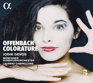 Offenbach colorature - Jodie Devos - Alpha Classics