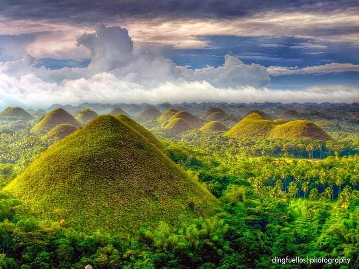 10 Most Famous Travel Destinations In Philippines | Chocolate Hills in Pilippines