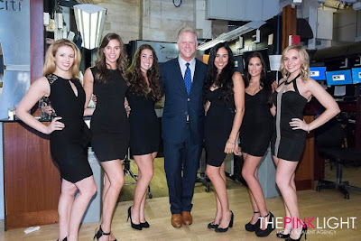 The Pink Light Models Host NYSE Reception (Again)