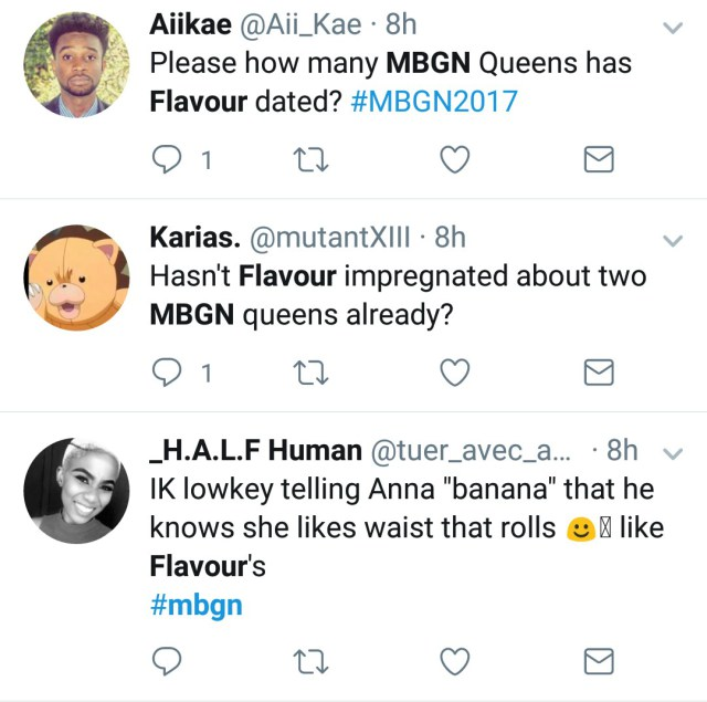 jgg #MBGN2017: Nigerians On Twitter Troll Flavour Over New MBGN Queen