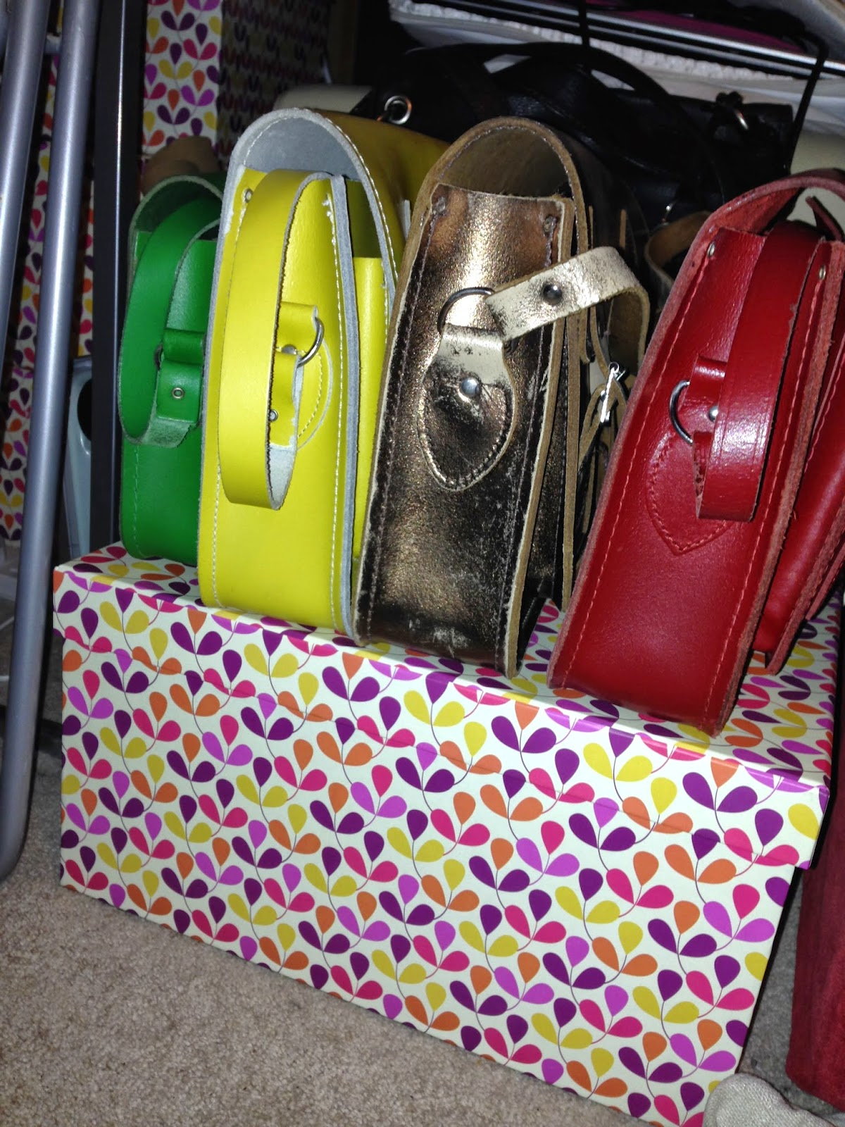 Stop buying satchels!