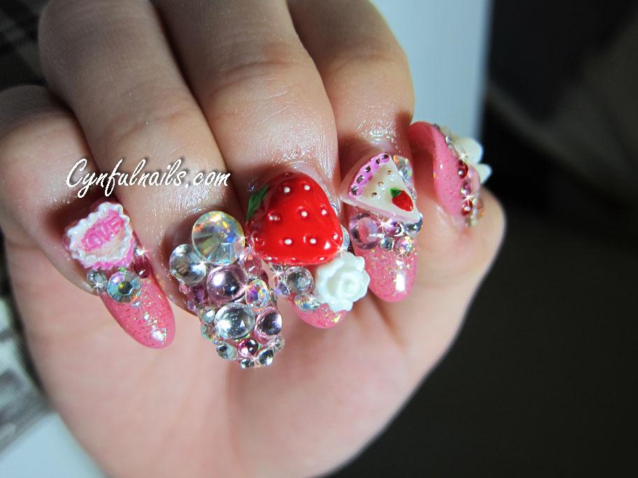 Nail designs: 3D nail designs