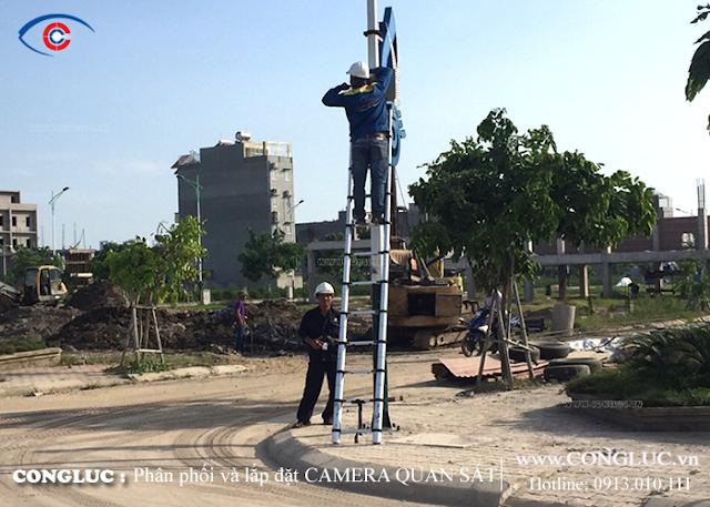 Lắp camera tại đường võ Nguyên Giáp