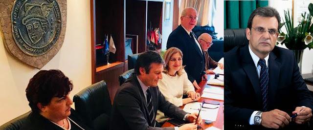 Η Αργολίδα με τον Φώτη Δαμούλο στην διοικητική επιτροπή της Κεντρικής Ενωσης Επιμελητηρίων