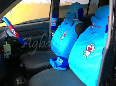 aksesoris interior mobil Doraemon