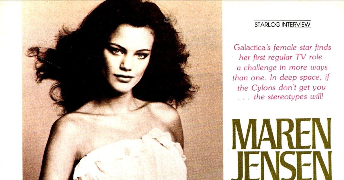Starlogged geek media again 1978 battlestar galactica for Maren jensen