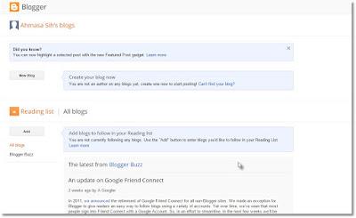 Langkah Membuat Blog gratis