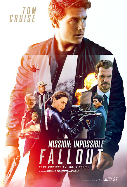 Mission Impossible Fallout 2018 movie poster